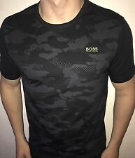 Hugo Boss Mens  t-shirt Green Label BNWT New Black Size 3XL XXXL *Modern Fit*