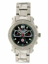 Lucien Piccard Men's Tracker 2A-346 Chronograph Watch Excellent Cosmetic/Running
