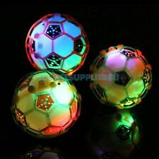LED Light Jumping Ball Baby Crazy Music Football Kid's XMAS Jump Toys Pet Toy A