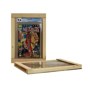 Wooden Graded Comic Book Frame fits all CGC Modern Silver Golden Age slabs