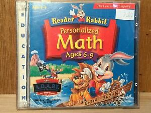Reader Rabbit Personalized Math Ages 6-9 (CD-ROM Learning Company)
