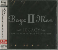 BOYZ II MEN-LEGACY - THE GREATEST HITS-JAPAN SHM-CD BONUS TRACK D50