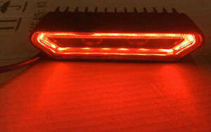 Rear Facing LED Light - Strobe, Reverse , bed ,Brakes ,red & white Compare Rigid