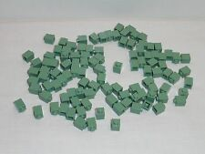 NEW LEGO Sand Green 1X1 Bricks Lot of 100 Pieces Harry Potter 3005