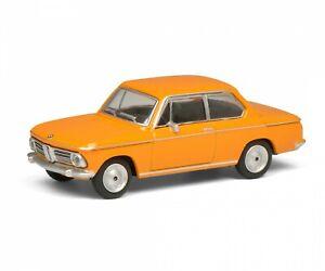 BMW 2002 Orange / Type No. 452022700, Schuco Modèle Auto 1:64