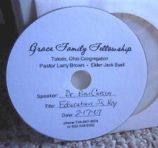 DR. BEN CARSON Education is Key speech 2007 CD Grace Family Fellowship Toledo
