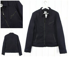 NUOVO lee vintage giacca con zip Jeans Harrington FODERATO BLU 101 SLIM S/M/L /
