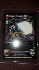 dragon ball Piccolo's Destruction Drill 132 S. Android 17 Saga Gt Card - 7 of 7