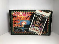 Vintage TOMY 1979 Atomic Arcade Table Top Pin Ball - Missing Legs Excellent
