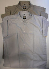 Unbranded Men's Striped Short Sleeve Casual Shirts & Tops ,no Multipack