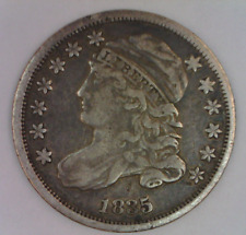 1835 Capped Liberty Draped Bust Dime High Grade Type Coin 2