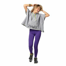 Zumba Disco Swearshirt Hoodie Sement Grey S - L