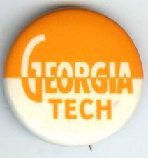 Vintage Georgia Tech Pin Pinback
