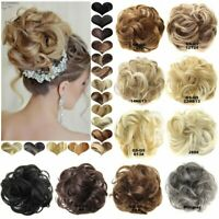 Hair Piece Hair Extension Messy Curly Scrunchy Scrunchies Updo Cover Ponytail