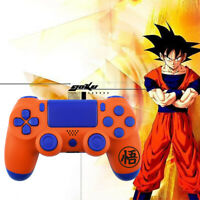 Dragon Ball Goku Custom Shell Case Replacement DIY for PS4 Slim Pro Controller