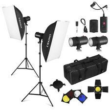 440W Profesional Studio Kit de iluminación de Flash estroboscópico fotografía