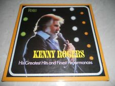 "Kenny Rogers ""His Greatest Hits and Finest Performances"" Box Set EX"