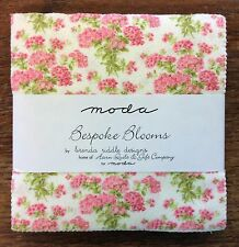 """Bespoke Blooms by Brenda Riddle for Moda  - fabric Charm Pack - 5"""" squares"""
