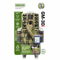 Moultrie A-5 Gen 2 14 MP 8 GB SD Card Infrared Digital Game Trail Hunting Camera