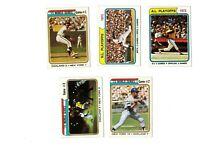 1974 Topps Baseball - 10-card World Series subset #470-479 - Set Break!