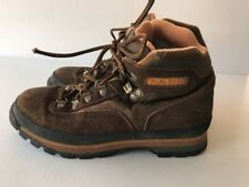 Kids Brown Timberland Hiking Boots Size 7.5