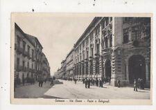 Catania Via Etnea Poste e Telegrafi Italy Vintage Postcard 915a