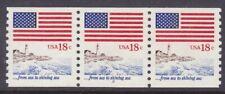 US 1891 MNH 1981 18¢ Flag Sea to Shining Sea PNC 3 Plate #2