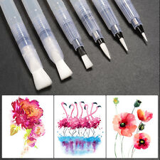 6pcs Water Brush Ink Pen Set Assorted Brush Tips Watercolor Painting Tool AC791