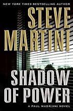 Paul Madriani: Shadow of Power No. 9 by Steve Martini (2008, Hardcover) Used Lib