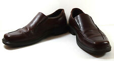 Men's ECCO Berlin US Size 13 Brown Leather Loafers Shoes EU 47