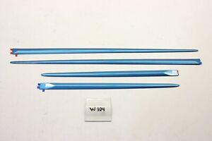 New OEM Body Side Molding Door Protector Set Mitsubishi Mirage 2014-2020 Blue