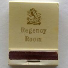 Regency Room Matchbook (MK16)