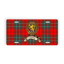 Cumming Scottish Clan Novelty Auto Plate Tag Family Name License Plate