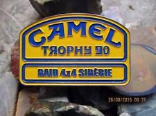 VINTAGE LAND ROVER BADGE DEFENDER FOR SALE 4X4 CLOTHING CAMEL TROPHY SIBERIA 90