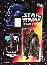 Darth Vader corta sable Monmc Kenner figura de Acción 1995 Star Wars rojo Potf2