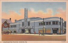 Postcard Greyhound Bus Terminal Louisville KY
