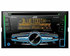 JVC Radio 2 DIN USB Bluetooth Citroen Jumper 250  ab 04/2006 Klavierlack schwarz