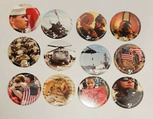 14th  Print  Uncir 5 Cent  Set of AAFES  Pogs  from 2010