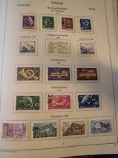 Sammlung Schweiz gestempelt 1945-1979 mit Flugpost Pro Jventute Ämter .. (50041)