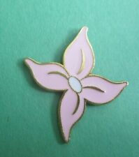 Pink Flower The Little Mermaid Icons - Disney Lapel Pin