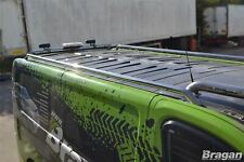 Acier Inoxydable Barres de Toit pour Renault Trafic Swb 2002 - 2014 Tuning Rack