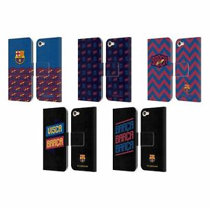 OFFICIAL FC BARCELONA FORCA BARCA LEATHER BOOK CASE FOR APPLE iPOD TOUCH MP3