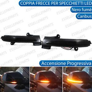 COPPIA FRECCE LATERALI PROGRESSIVE A LED PER RENAULT MEGANE MK4 CANBUS DINAMICHE