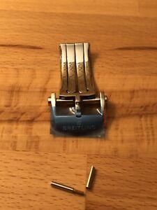 Breitling Faltschließe Schließe 20 mm Neu teilverklebt