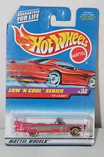 hot wheels 1/64 '59 caddy low'n cool series #699