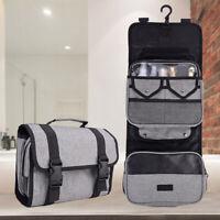 Large Hanging Toiletry Bag Travel Cosmetic Organizer Kit Waterproof Men Women