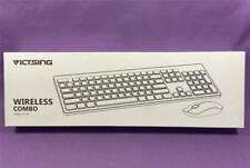 VicTsing Wireless Keyboard and Mouse Combo, 2.4GHz