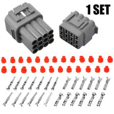 1 Set Car 12 Pin Way Sealed Waterproof Electrical Wire Auto Connector Plug Pack