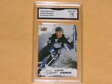 2008-09 Upper Deck Rookie Class Hockey Card # 1 Steven Stamkos GRADED 10 GEM-MT