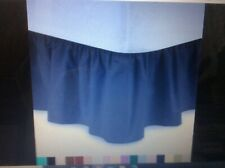 Jcpenney Twin Gathered Bed Skirt Navy Preowned